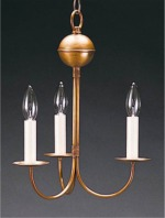 18th Century small Anchor three candle