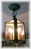6x9 Interior Pennsylvania Dual Candle Ceiling mount