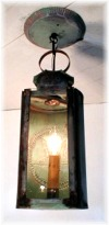 6dia. x 9 Interior Lancaster Lamp Lighters Ceiling hung