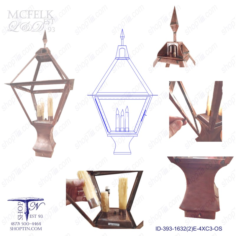 Old Salem Post Lantern Designs