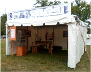 hosted site tent provided